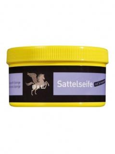 22.00 EUR/l B&E Sattelseife Paste mit Schwamm Lederreinigung 250 ml Dose