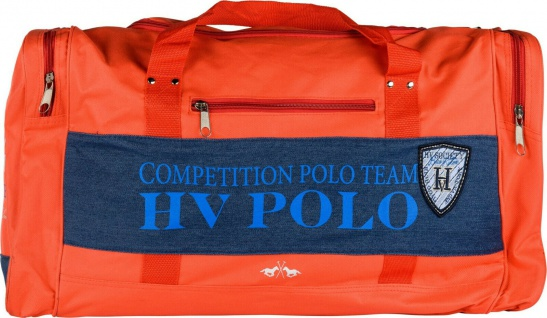 HV POLO Sporttasche Alva mit Denim Details Prints und Logo Pepper