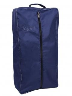 QHP Trensentasche Oxford Stoff mit Reißverschluss. Griff. Band innen 7 Farben