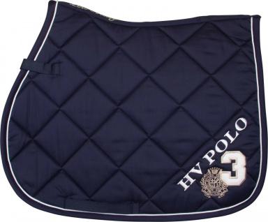 HV Polo Schabracke Favouritas VS diagonale Steppung Logo Stickerei versch.Farben