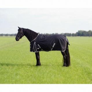 QHP Regendecke Turnout XL 600D 0g Füllung für Friesen und großrahmige Pferde