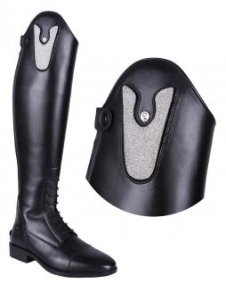 QHP Stiefel-Top. wechselbares Oberteil Sasha Glitter für Stiefel Adult Sasha