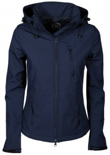 Harry's Horse Mädchen Softshell Jacke Chicago Reitjacke abnehmb. Kapuze 2 Farb.