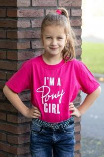 Harry's Horse Mädchen T-Shirt Quote Kids kurzarm großer Brustprint 3 Farben