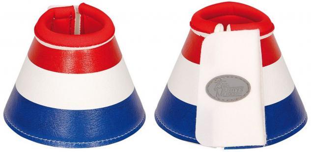 Harry's Horse Hufglocken Flag Springglocken Neopren blau-weiß-rot außen PU Klett
