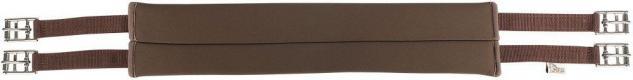Harry's Horse Sattelgurt Neopren glatt soft schweißabsorbierend schwarz + braun