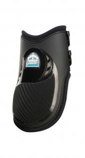 Veredus Streichkappen Carbon Gel Vento Rear hinten dopp. Belüftung schwarz+braun