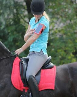 QHP Smartphone-Hülle Handy-Tasche Sportarmband für Smartphone für den Oberarm