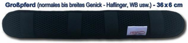 CeraTex Therapeutischer Genickschoner schwarz Keramikfaser Neopren 2 Größen