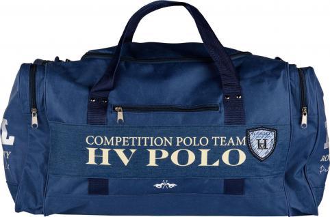 HV POLO Sporttasche Alva mit Denim Details Prints und Logo 2 Farben