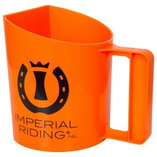 Imperial Riding Futterschaufel mit Henkel 1.5 Liter. eine flache Seite