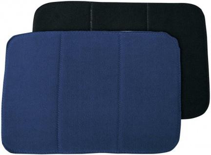 Harry's Horse Bandagenunterlagen 4er Set Fleece 30 x 45 cm schwarz / marineblau