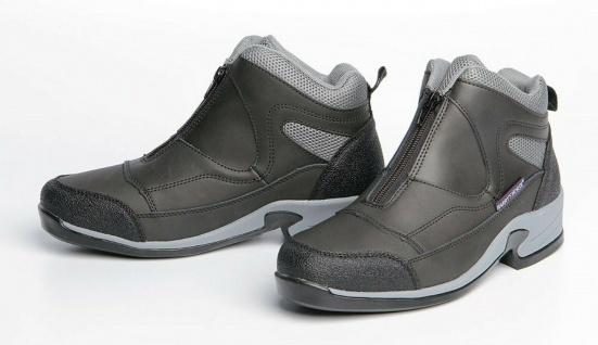 Harry's Horse Stallschuhe Schuhe Sherwood mit Reißverschluss Leder schwarz