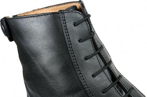 QHP Elastische Schnürsenkel für Reitstiefeletten und Reitstiefel schwarz + braun
