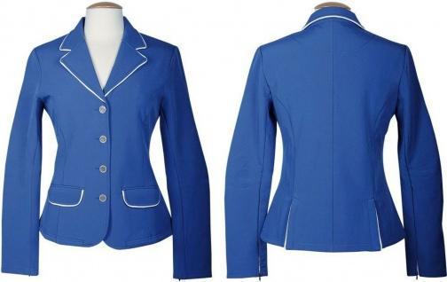 Harry's Horse Damen Turnierjacket St.Tropez II Softshell kobalt/weiß div. Größen