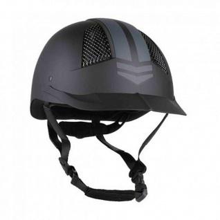 QHP Sicherheits-Reithelm Vibrant VG1 01 040 2014-12 Matt. verstellbar