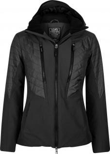 HV POLO winterwarme Damen Softshell-Jacke Virden Kapuze Logo Black Gr. L