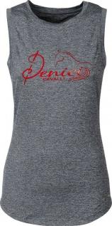 Harry's Horse Damen Tanktop Denici Cavalli Red. großes Denici Cavalli-Logo vorne