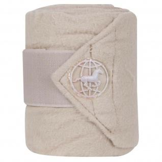 Imperial Riding Global Fleecebandagen Fleece-Bandagen br. Klettverschluss 4erSet