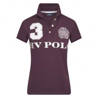 HV POLO Damen kurzarm Polo-Shirt Favouritas EQ SS Prints Stickereien