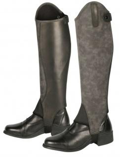 Harry's Horse Stiefelschaft Velvet Minichaps Kunstleder schwarz RV