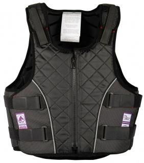 Harry's Horse Sicherheits-Reitweste Bodyprotector 4Safe Senior schwarz EN 13158
