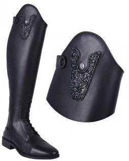 QHP Stiefel-Top. wechselbares Oberteil Sasha Glitz für Stiefel Adult Sasha
