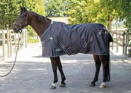 Harry's Horse Regendecke Thor ebony 0 gr Nylon-Futter wasserdicht 600D Gehfalte