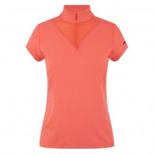 euro star Damen Shirt Blake kurzarm Stehkragen kurzer RV dubarry Gr. XS - M