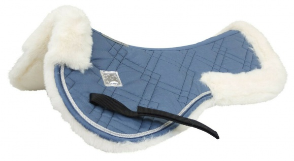 EQuest Illusion Fur Pad Winter Sport weiche Weblamm Unterseite Widerristpolster