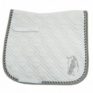 Imperial Riding Luxus Dressur Schabracke Pisa Baumwolle Stickerei und Strass