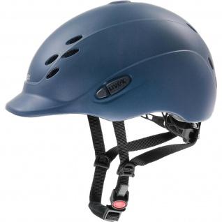 Uvex Jugend-Reithelm onyxx für junge Reiter stylische Optik blue mat