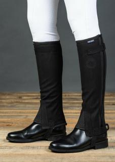 Harry's Horse Chaps Minichaps Amara elastisch Reißverschluss schwarz div. Größen