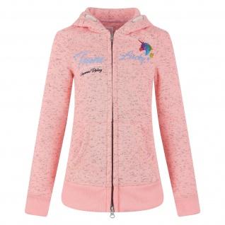 Imperial Riding Mädchen Sweat-Jacke The Effect Kapuze farb. Einhorn-Print pink