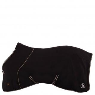 BR Softshelldecke Classic Regendecke mit Fleece wasserabweisend schwarz 125 cm
