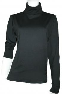 CeraTex elastisches Funktions-Rollkragen-Shirt schwarz extrem leicht