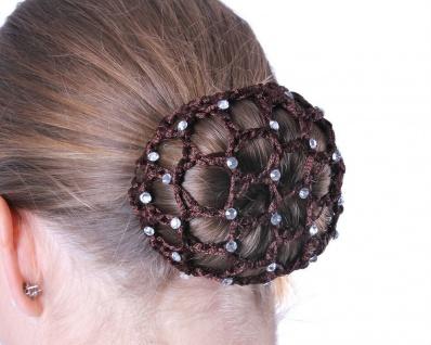 QHP Haarnetz Diamond Perlennetz elastisch Universalgröße diverse Farben