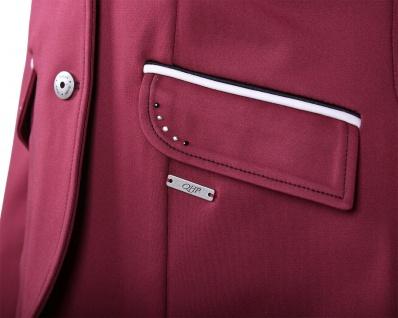 QHP Damen Turniersakko Turnierjacket Coco Adult Softshell Farbdetail Strass red - Vorschau 3