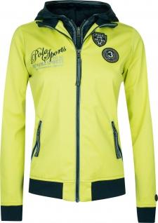 HV POLO Damen Softshell-Jacke Malou Kapuze im Kragen Stickerei Badge 2 Farben