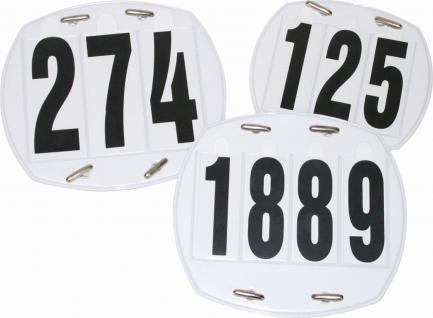 EQuest Kopfnummern SET 3-stellig od 4-stellig in einer Mappe. wechselbare Zahlen