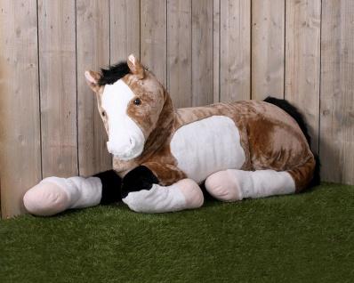 QHP Großes und weiches Kuschelpferd Star 185 cm lang