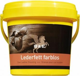 10.50 EUR/l B&E Lederfett farblos 1000 ml pflegt nährt imprägniert Leder