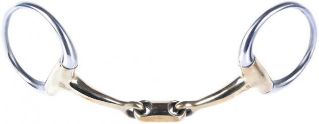 Harry's Horse Olivenkopfgebiss Kupfer doppelt gebrochen Stärke 13 mm