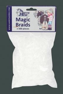 Harry's Horse Mähnengummi Mähnengummis ca. 500 Stück im Beutel transparent
