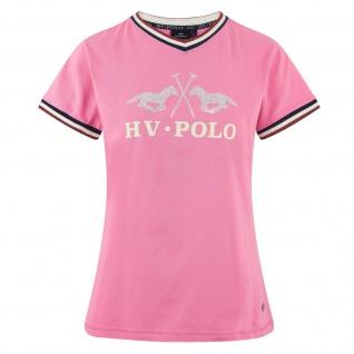 HV Polo Damen T-Shirt Maria kurzarm V-Ausschnitt Lurexgarn-Details Sommer 2019