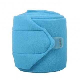 QHP Fleece-Bandagen 3m Klettverschluss 4er Set pass zu den Halfter-Sets Beginner