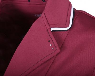 QHP Damen Turniersakko Turnierjacket Coco Adult Softshell Farbdetail Strass red - Vorschau 2