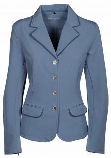 Harry's Horse Damen Softshell Turnierjacket St.Tropez TT Stahlblau Gr 40 und 44