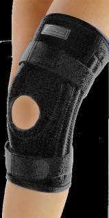 CeraTex Knieschoner Sport oben und unten Klettband schwarz Tiefenwärme 5 Größen