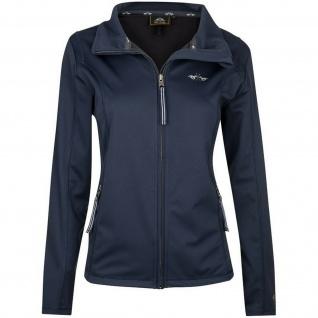 HV POLO Damen Softshell-Jacke tailliert Evi Stickerei Navy Gr. XL